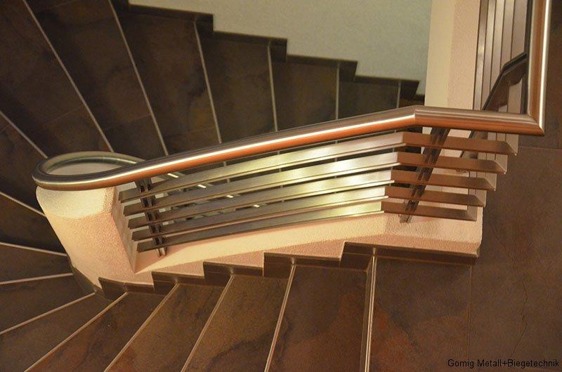 gewendeltes Treppengeländer